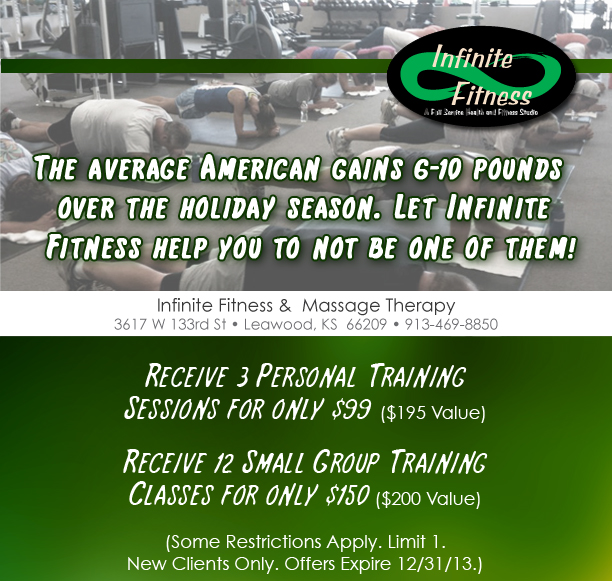 Infinite Fitness Personal Training Special!
