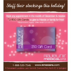 Rajeunir Medical Spa – December Special