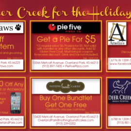Shop Deer Creek for the Holidays!!!